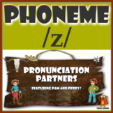 ★ Pronunciation Partners - /z/ Articulation Word Search ★