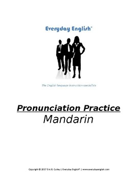 Pronunciation Practice (Mandarin)