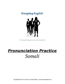 Pronunciation Practice (Somali)