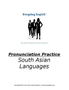 Pronunciation Practice (South Asian Languages)