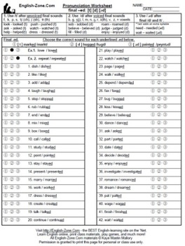 ed endings pronunciation   ESL worksheet by mellika likewise The Alphabet Pronunciation Worksheet Free Printable Worksheets Made further Ed Pronunciation Worksheets   Teaching Resources   TpT furthermore Resources   English   Suffi   Worksheets moreover Risultati immagini per ed endings pronunciation worksheet   Aprender as well Simple Past Grammar Diary Regular Irregular Verbs With Pronunciation further ed ending sounds worksheets further Using the Suffix ed for the Past Tense Lesson Teaching Pack likewise  moreover SIMPLE PAST   ed endings  pronunciation  worksheet   Free ESL likewise 4 essential pronunciation sorting exercises for the ESL clroom together with Pronunciation ed endings   ESL worksheet by ale delpotro as well  as well Past Simple Form of Regular Verbs  ed is pronounced  t  after verbs likewise Ed And Ing Endings Worksheets Add Printable Worksheets Suffix further . on pronunciation of ed endings worksheets