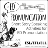 Pronunciation of -ED Endings, Short Story with Audio, Read