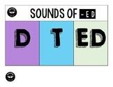 Pronunciation of ED Lapbook