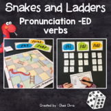 Snakes and Ladders - Simple Past Regular Verbs - Sounds of -ED