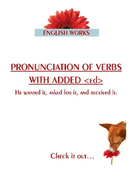 """Pronunciation of Verbs with Added """"-ed"""""""