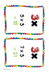 3x Times Tables Posters, Student Reference, Flash Cards