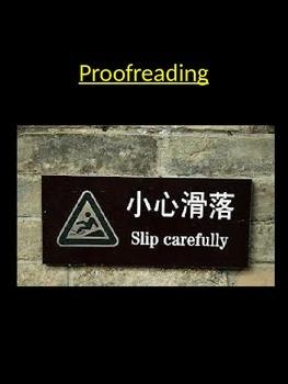 Proof Reading & Skimming