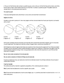 Proof by mathematical induction.