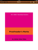 Proofreader's Marks: A video by Mrs. Sellers' Secondary Solutions