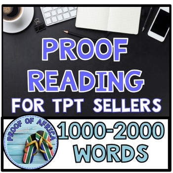 Proofreading 1000 - 2000 words