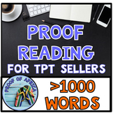 Proofreading > 1000 Words