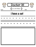Proofreading First Grade Lessons 1-15 (StoryTown)