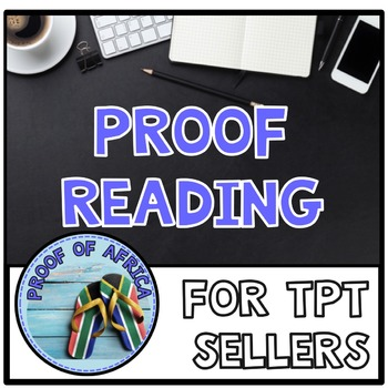 Proofreading How To