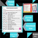 Proofreading Marks Printables