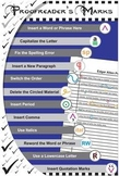 Proofreading Marks Poster - Edit & Proofread Your Grammar