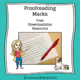 Proofreading Marks Printable