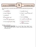 Proofreading Marks: Ten-Minute Grammar Unit #1