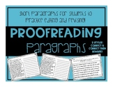 Proofreading Paragraphs