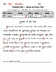 Proofreading Practice 1 (Easy-Uppercase and Lowercase Only) with Answer Key