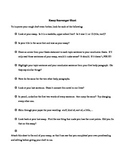 Proofreading Scavenger Hunt