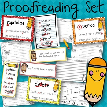 Proofreading Set for Writing
