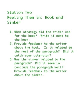 Proofreading Stations