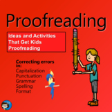 Proofreading - Writing Process Presentation