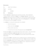 Proofreading a Memorandum