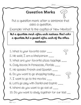 Grammar Activities!