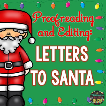 Proofreading and Editing: Letters to Santa