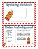 """Proofreading and Editing Mini-Book ( writer""""s workshop)"""