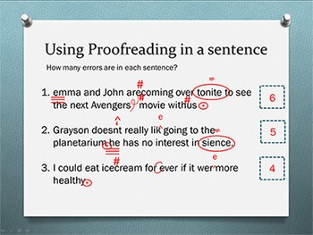 Proofreading in Keyboarding Unit
