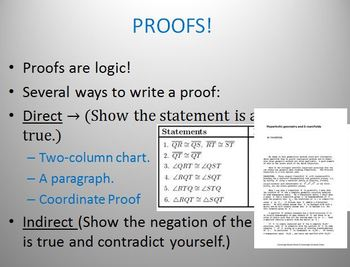 Proofs An Introduction (PP)