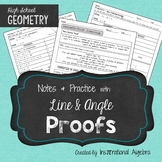 Proofs - Lines & Angles: Notes & Practice