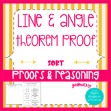 Proofs- Lines and Angles Card Sort