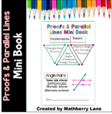 Proofs and Parallel Lines Mini Book Assessment or Practice
