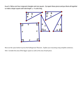 Proofs for the Pythagorean Theorem
