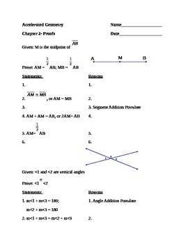 Proofs ws
