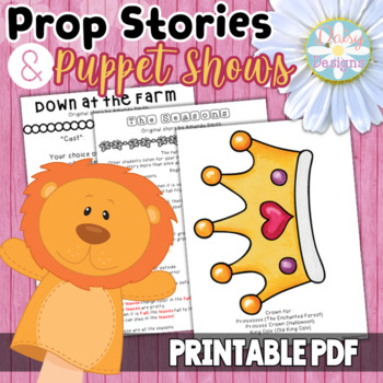 Puppet Shows - Active Reader's Theater - Prop Stories