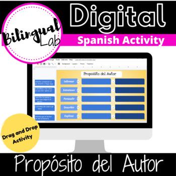 Propósito del Autor Google Classroom Activity