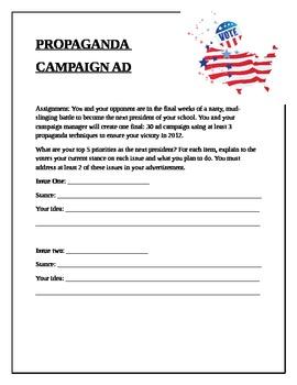 Propaganda Campaign Ad
