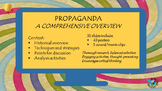 Propaganda - How language is used to influence the way we think.