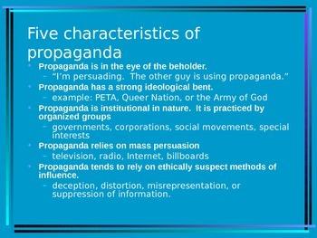 Propaganda PPT