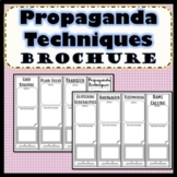 Propaganda Techniques Brochure SS.7.C.2.11 Civics