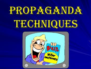 Propaganda Techniques Learning Center