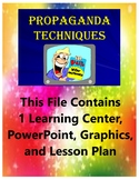 Propaganda Techniques Learning Center Teacher Resources Fun Engaging