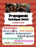Propaganda Techniques Match