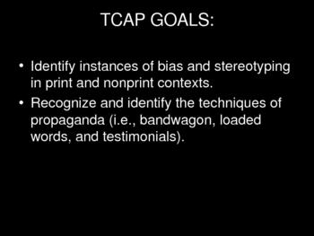 Propaganda and Bias Powerpoint Slideshow
