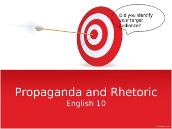 Propaganda and Rhetoric Slideshow
