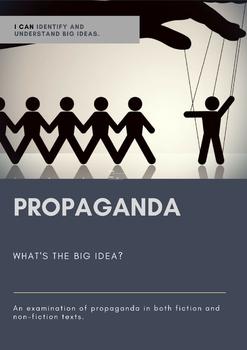 Propaganda in Fiction & Non-Fiction Texts